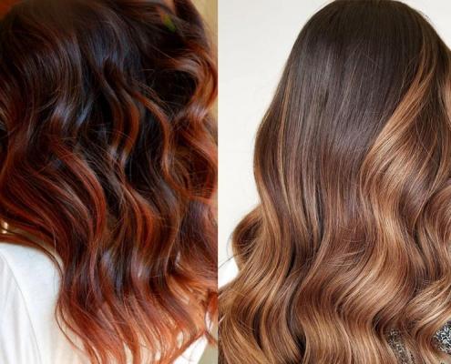رنگ موی سال 2021